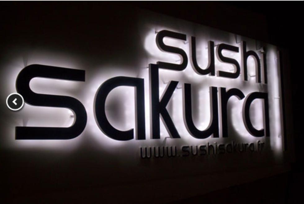 3D fasadebokstaver lys mot vegg_sign production